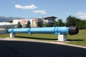 Display at CERN