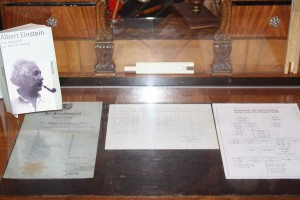 Einstein's writings and slide rules