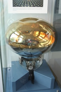 A very large photomultiplier tube from an astrophysics experiment