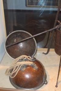 The original Magdeburg hemisphere to demonstrate atmospheric pressure