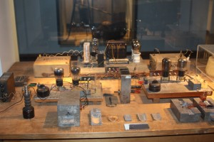 Equipment used by Laurie Meitner and Otto Hahn in their discovery of nuclear fission
